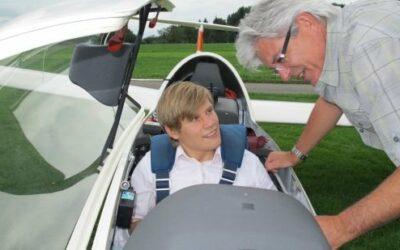 Mein erster Segelflug – Dino Trovatelli