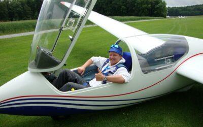 Erfahrungsbericht der Segelflugausbildung von Jonas Pitschen