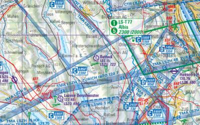 Änderungen der Luftraumstruktur der Schweiz 2019