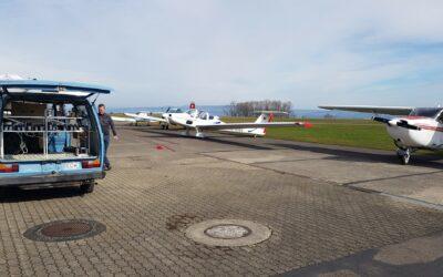 Hangarausräumung – We're getting ready again